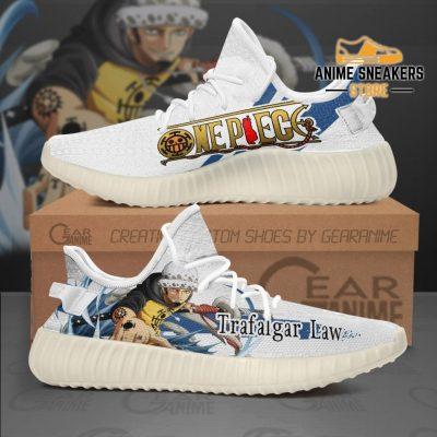 Trafalgar Law Shoes One Piece Custom Anime Tt10 Men / Us6 Yeezy
