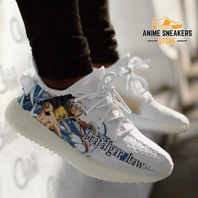 Trafalgar Law Shoes One Piece Custom Anime Tt10 Yeezy