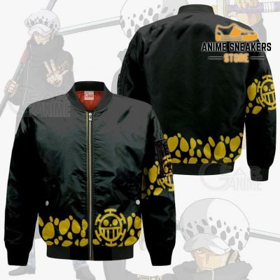 Tragafalar D Water Law Uniform One Piece Anime Hoodie Jacket Va11 Bomber / S All Over Printed Shirts