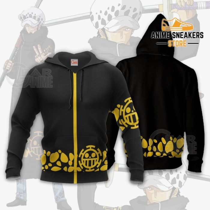 Tragafalar D Water Law Uniform One Piece Anime Hoodie Jacket Va11 / S All Over Printed Shirts