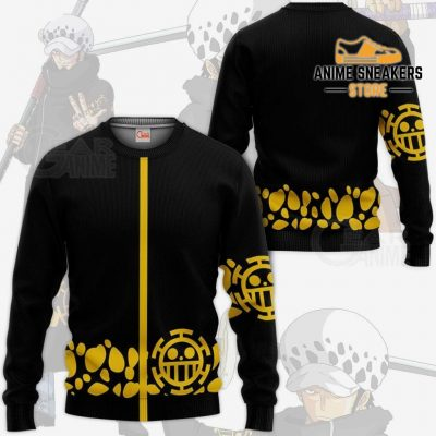 Tragafalar D Water Law Uniform One Piece Anime Hoodie Jacket Va11 Sweater / S All Over Printed