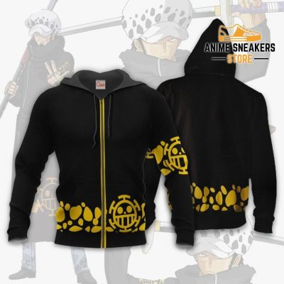 Tragafalar D Water Law Uniform One Piece Anime Hoodie Jacket Va11 Zip / S All Over Printed Shirts