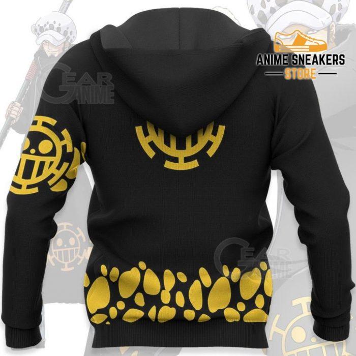 Tragafalar Law Shirt One Piece Anime Hoodie Jacket Va11 All Over Printed Shirts