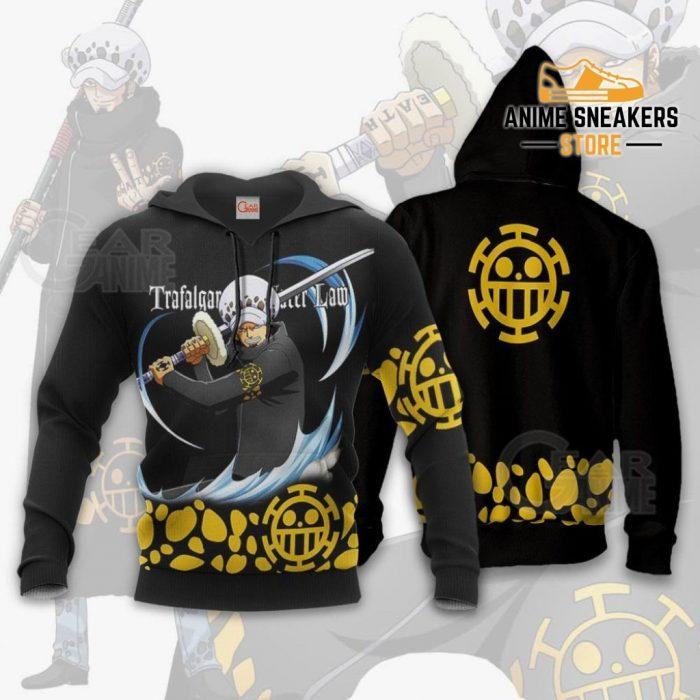 Tragafalar Law Shirt One Piece Anime Hoodie Jacket Va11 / S All Over Printed Shirts