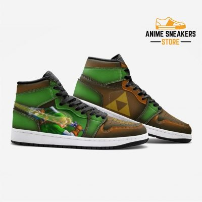 Triforce Symbol Zelda Custom J-Force Shoes Mens