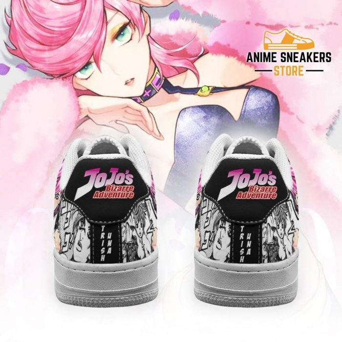 Trish Una Sneakers Manga Style Jojos Anime Shoes Fan Gift Idea Pt06 Air Force