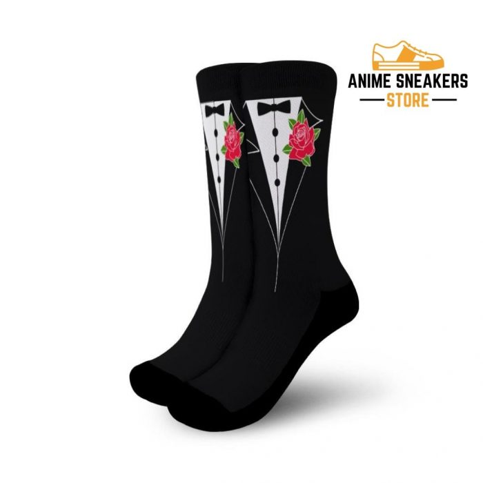 Tuxedo Socks Sailor Moon Uniform Anime Small