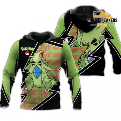 Tyranitar Zip Hoodie Costume Pokemon Shirt Fan Gift Idea Va06 Adult / S All Over Printed Shirts