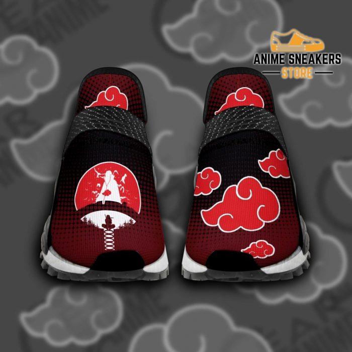 Uchiha Itachi Shoes Naruto Akatsuki Custom Tt11 Men / Us6 Nmd