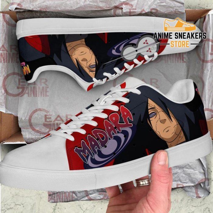 Uchiha Madara Skate Shoes Naruto Anime Custom Pn10