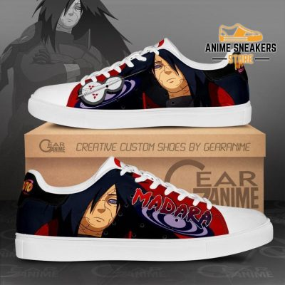 Uchiha Madara Skate Shoes Naruto Anime Custom Pn10 Men / Us6