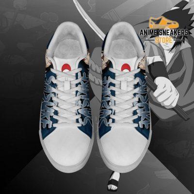 Uchiha Sasuke Skate Shoes Naruto Anime Custom Pn10