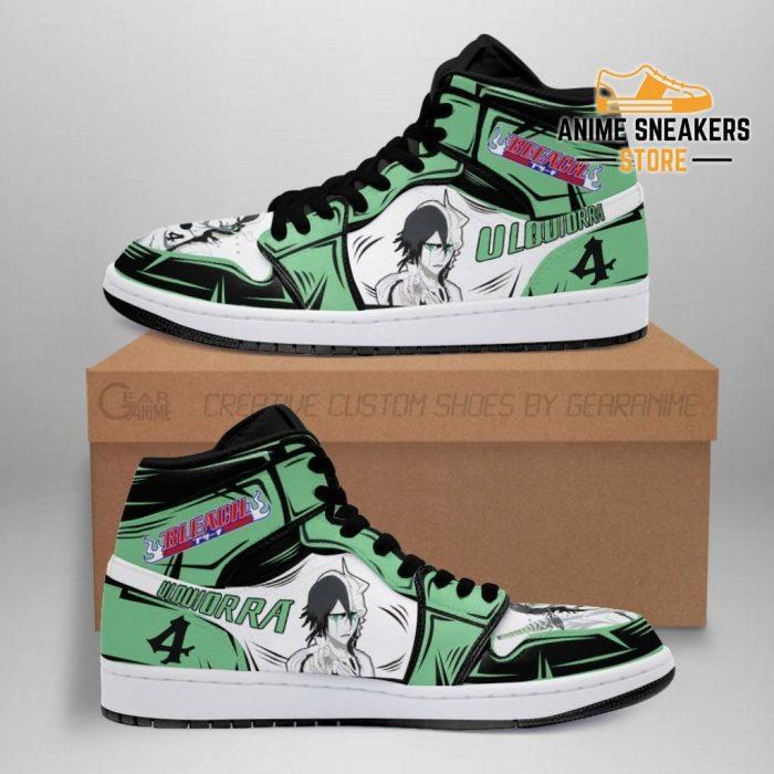 Ulquiorra Cifer Sneakers Bleach Anime Shoes Fan Gift Idea Mn05 Men / Us6.5 Jd