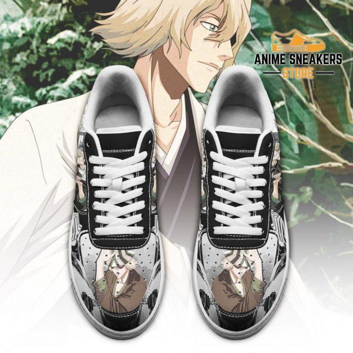 Urahara Kisuke Sneakers Bleach Anime Shoes Fan Gift Idea Pt05 Air Force
