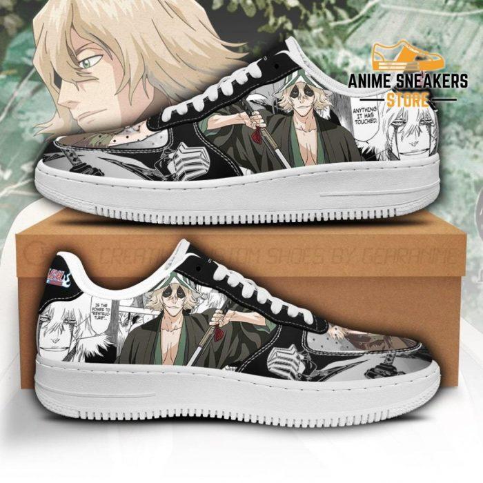 Urahara Kisuke Sneakers Bleach Anime Shoes Fan Gift Idea Pt05 Men / Us6.5 Air Force