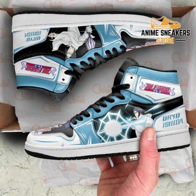 Uryu Ishida Bleach Sneakers Anime Custom Shoes Mn09 Men / Us6.5 Jd
