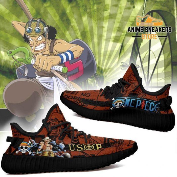 Usop Yeezy Shoes One Piece Anime Fan Gift Tt04