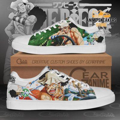 Usopp Skate Shoes One Piece Custom Anime Men / Us6