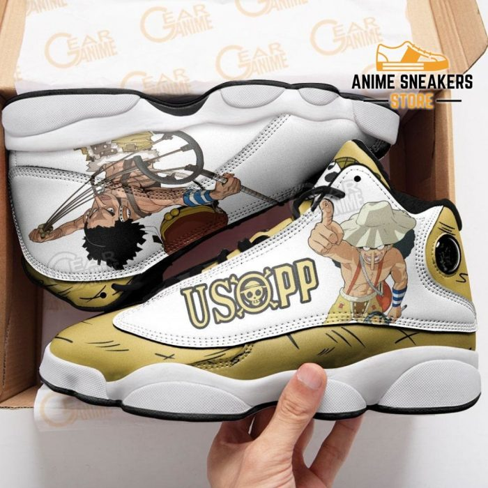Usopp Sneakers One Piece Anime Shoes Jd13