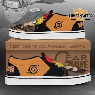Uzumaki Naruto Slip On Shoes Custom Anime Pn12 Slip-On