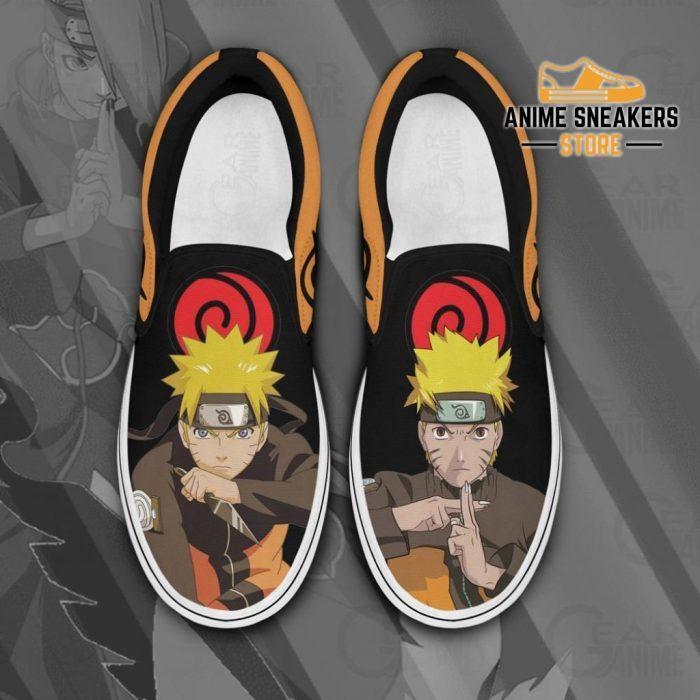 Uzumaki Naruto Slip On Shoes Custom Anime Pn12 Men / Us6 Slip-On