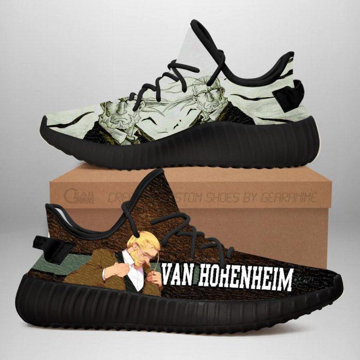 Van Hohenheim Yeezy Shoes Fullmetal Alchemist Anime Sneakers Fan Gift Idea TT05 Men / US6 Official Fullmetal Alchemist  Merch