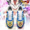 Vegeta Blue Air Force Sneakers Custom Shoes No.3