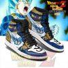 Vegeta Full Power Air Jordan Sneakers Custome Shoes Men / Us6.5 Jd