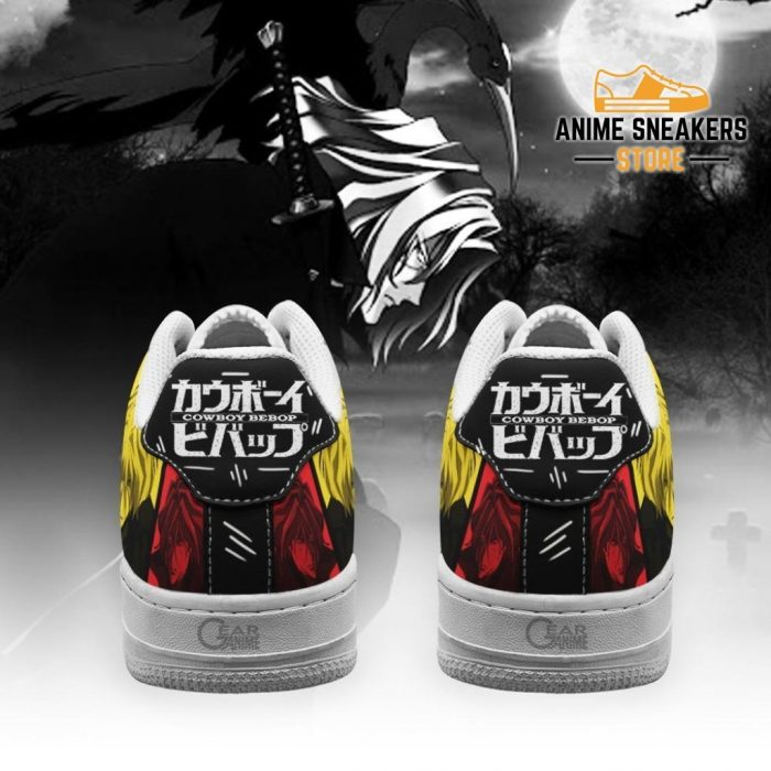 Vicious Cowboy Bebop Sneakers Anime Custom Shoes Pt10 Air Force