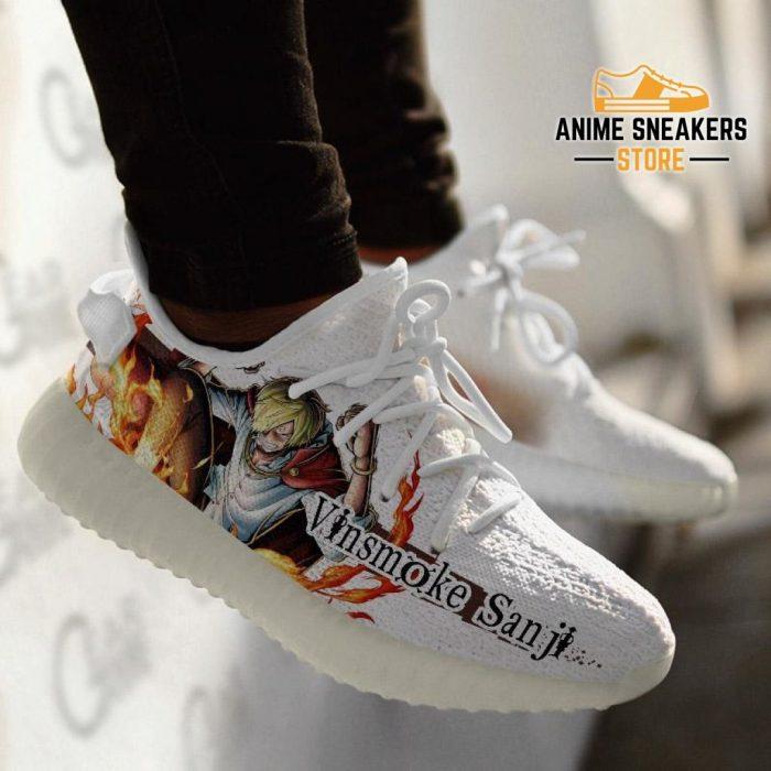 Vinsmoke Sanji Shoes One Piece Custom Anime Sneakers Tt10 Yeezy