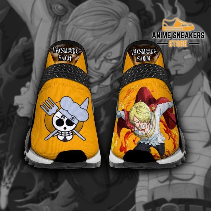 Vinsmoke Sanji Shoes One Piece Custom Anime Tt11 Men / Us6 Nmd