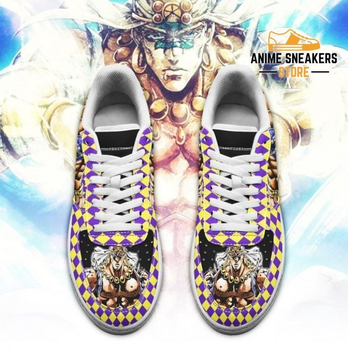 Wammu Sneakers Jojo Anime Shoes Fan Gift Idea Pt06 Air Force
