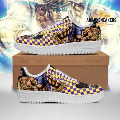 Wammu Sneakers Jojo Anime Shoes Fan Gift Idea Pt06 Men / Us6.5 Air Force