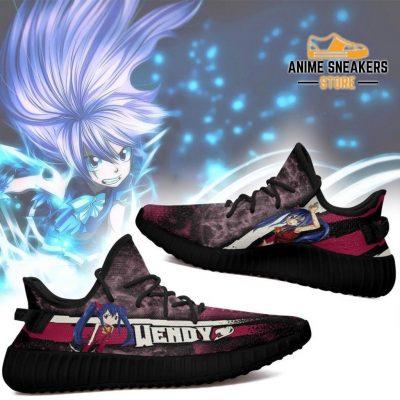Wendy Yeezy Shoes Custom Fairy Tail Anime Sneakers Fan Gift Idea Tt05