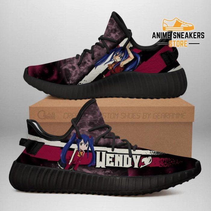 Wendy Yeezy Shoes Custom Fairy Tail Anime Sneakers Fan Gift Idea Tt05 Men / Us6