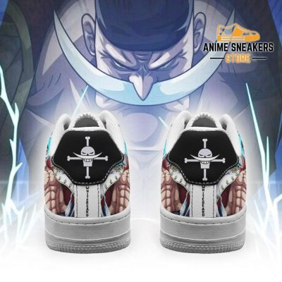 White Beard Sneakers Custom One Piece Anime Shoes Fan Pt04 Air Force