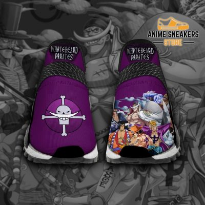 Whitebeard Pirates Shoes One Piece Custom Anime Tt12 Men / Us6 Nmd