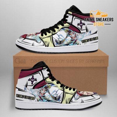 Whitebeard Sneakers Gura Skill One Piece Anime Shoes Fan Mn06 Men / Us6.5 Jd