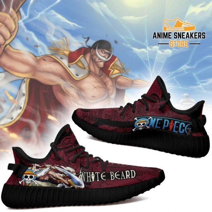 Whitebeard Yeezy Shoes One Piece Anime Fan Gift Tt04