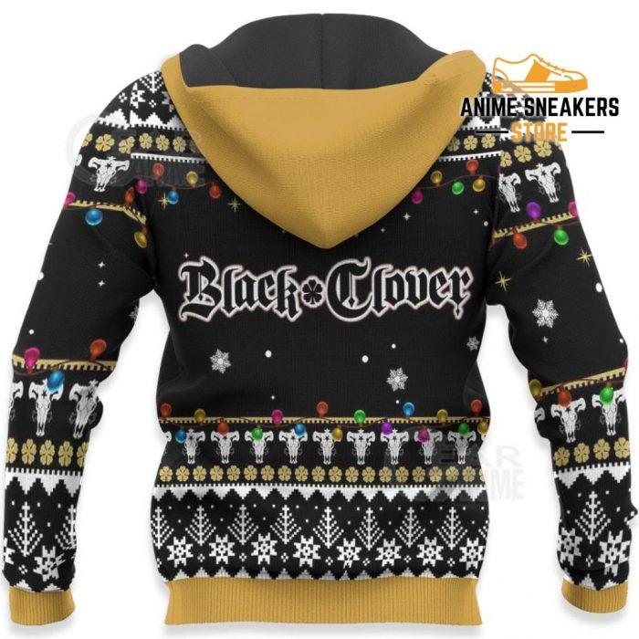 Yami Sukehiro Ugly Christmas Sweater Black Clover Anime Xmas Gift Va11 All Over Printed Shirts