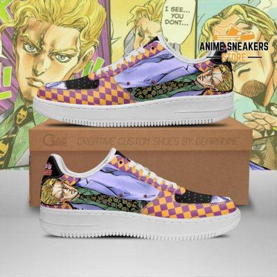 Yoshikage Kira Sneakers Jojo Anime Shoes Fan Gift Idea Pt06 Men / Us6.5 Air Force