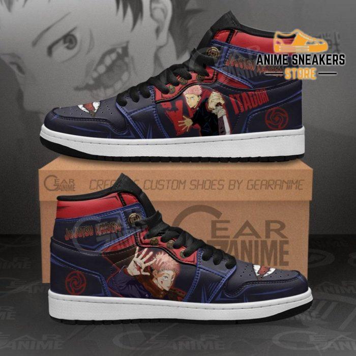 Yuji Itadori Jujutsu Kaisen Sneakers Anime Shoes Mn11 Men / Us6.5 Jd