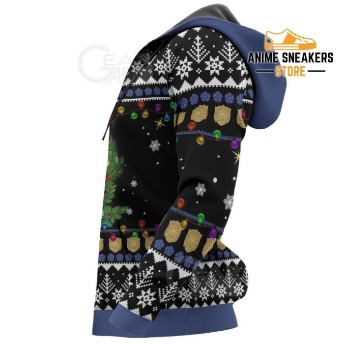 Yuno Ugly Christmas Sweater Black Clover Anime Xmas Gift Va11 All Over Printed Shirts