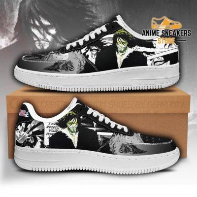 Zangetsu Sneakers Bleach Anime Shoes Fan Gift Idea Pt05 Men / Us6.5 Air Force