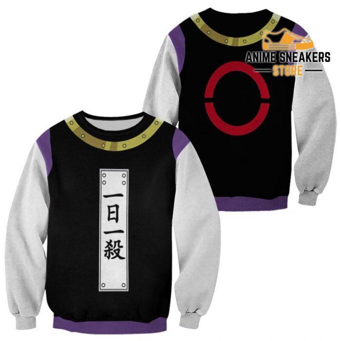 Zeno Zoldyck Hunter X Uniform Shirt Hxh Anime Hoodie Jacket Sweater / S All Over Printed Shirts