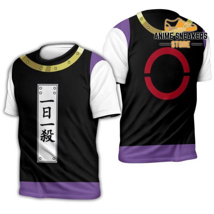 Zeno Zoldyck Hunter X Uniform Shirt Hxh Anime Hoodie Jacket T-Shirt / S All Over Printed Shirts