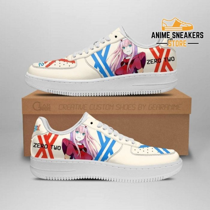 Darling In The Franxx Shoes Code 002 Zero Two Sneakers Anime Men / Us6.5 Air Force