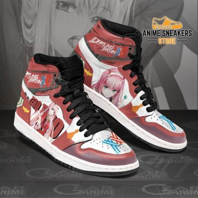 Zero Two Darling In The Franxx Sneakers Code 002 Anime Shoes Jd