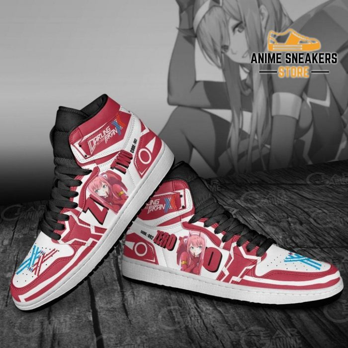 Zero Two Darling In The Franxx Sneakers Code 002 Custom Shoes Jd