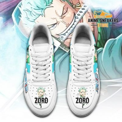 Zoro One Piece Sneakers Custom Anime Shoes Pt04 Air Force